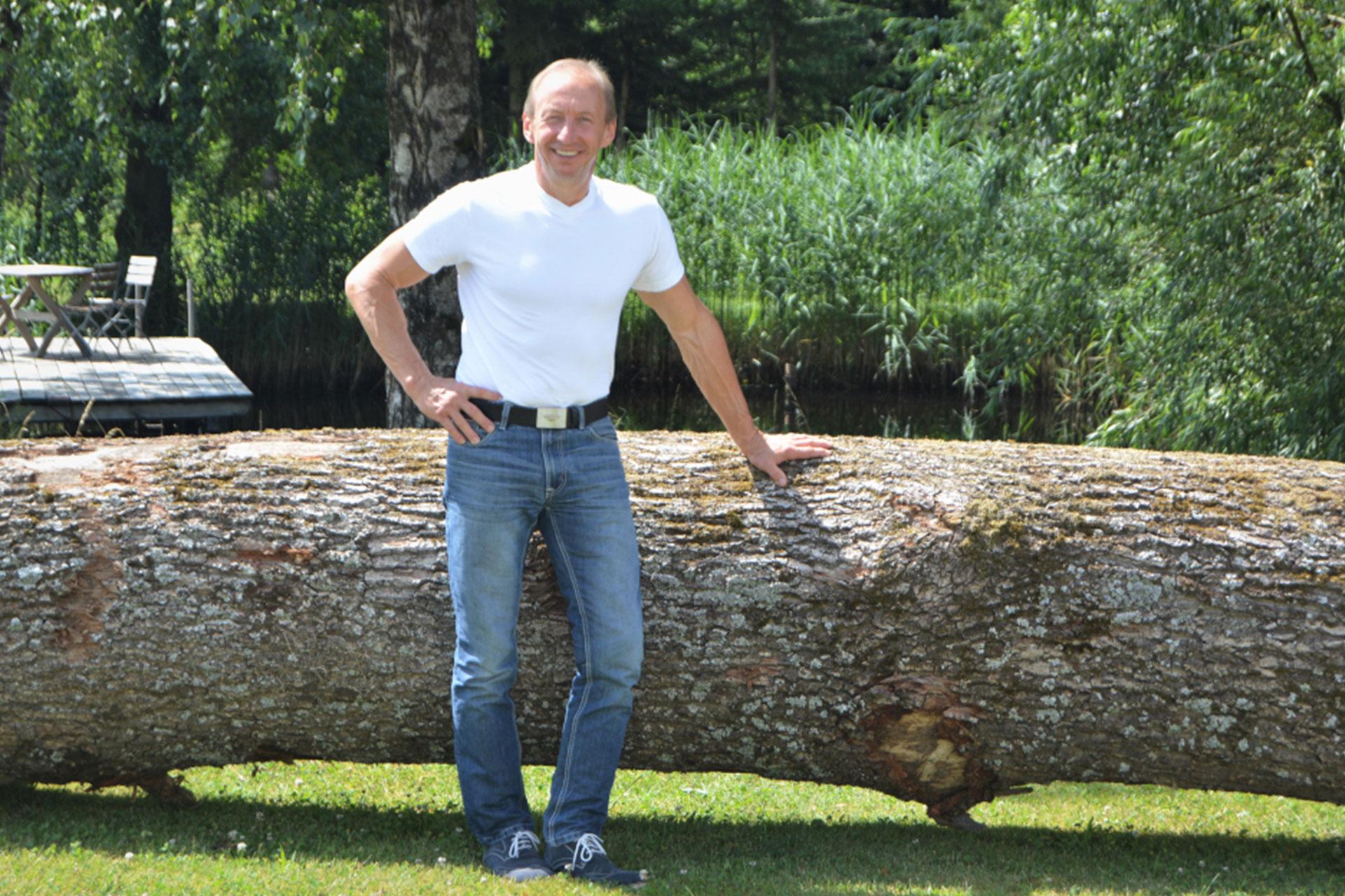 Rudolf Wistl, Designer & Master Carpenter of GLAS.HOLZ design, Denmark